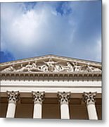 Hungarian National Museum Architectural Details Metal Print