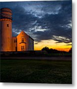 Hunstanton Lighthouse Metal Print by Andrew Lalchan