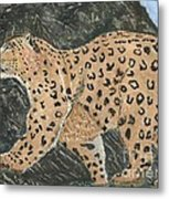Hunting In The Hills Metal Print
