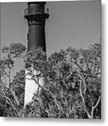 Hunting Island Light Metal Print