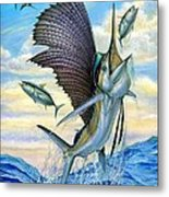 Hunting Of Small Tunas Metal Print by Terry Fox