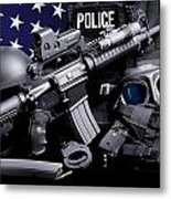 Huntsville Police Metal Print