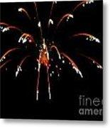 Huron Ohio Fireworks 11 Metal Print