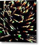 Huron Ohio Fireworks 15 Metal Print