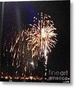 Huron Ohio Fireworks 2 Metal Print