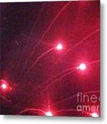 Huron Ohio Fireworks 7 Metal Print