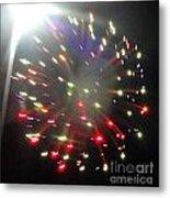 Huron Ohio Fireworks1 Metal Print
