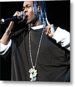 Hurricane Chris Metal Print