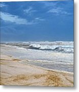 Hurricane Isaac Impacts Navarre Beach Metal Print
