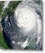 Hurricane Katrina Metal Print