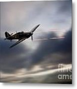 Hurricane Sting  Metal Print