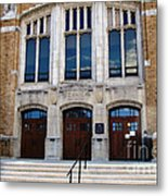 Hutchinson Central Technical High School Metal Print