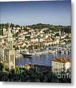 Hvar Overlook Metal Print