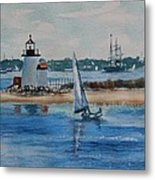 Hyannis Harbor Metal Print