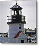 Hyannis Harbor Replica Metal Print