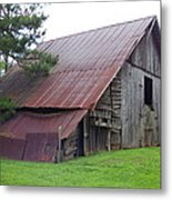 Hyde Farm Barn Metal Print