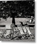 Hyde Park In London England Metal Print
