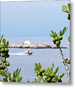 Hydra Island During Springtime Metal Print