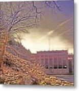 Hydro Electric Dam  N Metal Print