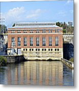 Hydroelectric Power Metal Print