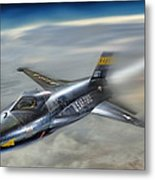Hypersonic Metal Print by Peter Chilelli