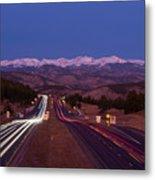 I-70 West, Colorado Metal Print