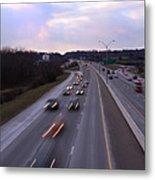 I-75 Knoxville At Dusk Metal Print