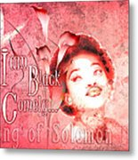 I Am Black And Comely Metal Print