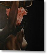 I Am Dark But Comely Metal Print by Belle Massey