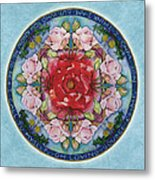 I Am That Mandala Metal Print
