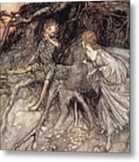 I Am That Merry Wanderer Of The Night Metal Print