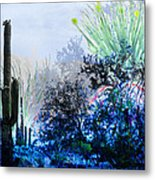 I Am.. The Arizona Dreams Of A Snow Covered Christmas, Regardless Of Our Interpretation Of- Winter 1 Metal Print