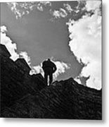 I Am The King Of The World Metal Print