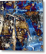 I Am.. The Long Drought  And The Hard Rain To Follow That Quenches Our Parched Souls Of...- Winter 2 Metal Print