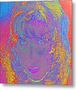 I Am Woman Metal Print by Elizabeth S Zulauf