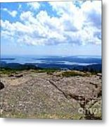 I Can See For Miles And Miles Metal Print