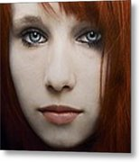 I Can See The Ocean In Your Eyes Metal Print