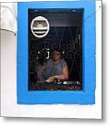 I Can See Your Kitchen Metal Print