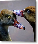 I Crown You Ducklet Metal Print by DerekTXFactor Creative
