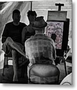 I Draw You Caricatures In Asheville Metal Print