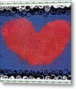 I Give You My Heart Metal Print