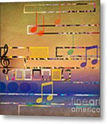 I Have Music In My Heart Metal Print