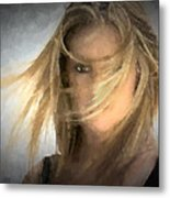 I Have My Eye On You Metal Print