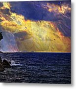 I Have Seen Fire And I Have Seen Rain Metal Print