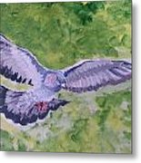 I Know Why A Caged Bird Sings Metal Print
