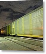 I Like To See It Lap The Miles Metal Print