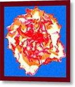 I Love Carnations Metal Print