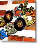 I Love Rock N Roll   Metal Print