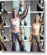 I Love You Iggy Pop Metal Print