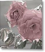 I Love You Rose Metal Print